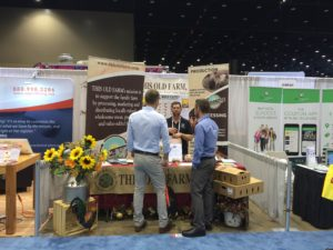 TOFI Salesman Lucas Educates Fellow Attendees at the National Restaurant Association Conference in Chicago Last Month